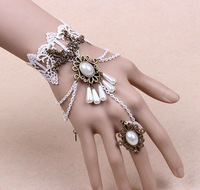 bohemian-wedding-bridal-bridel-cream-flower-lace-teardrop-beads-pearl-hand-jewelry-bracelet_200x200
