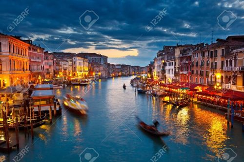 9019835-grand-canal-at-night-venice-stock-photo-venice-italy-venezia