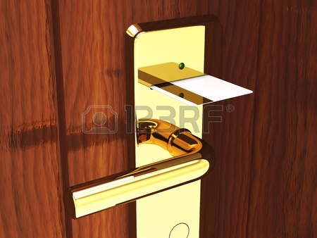 9696578-hotel-card-lock-and-keycard-3d-illustration