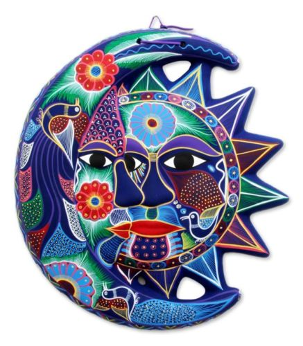 ceramic-wall-sculpture-mexican-folk-art-fantastical-eclipse-novica-mexico-868bc3b3bda74f34b277972e698879f0
