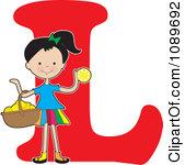 1089692-clipart-alphabet-girl-with-a-basket-of-lemons-over-letter-l-royalty-free-vector-illustration