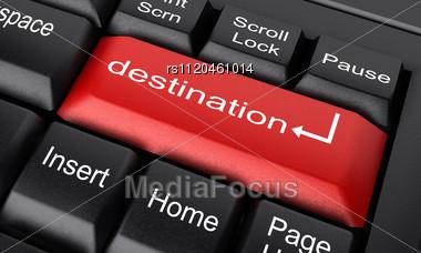 Word Destination On Keyboard