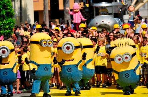 Despicable Me Minion Mayhem Grand OpeningPublicity