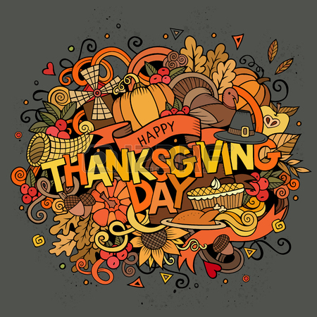 46402774-cartoon-vector-hand-drawn-doodle-thanksgiving-illustration-colorful-design-background-with-objects-a
