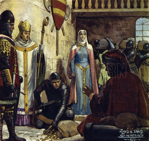 It was Eleanor who paid her son's ransom when he was captured