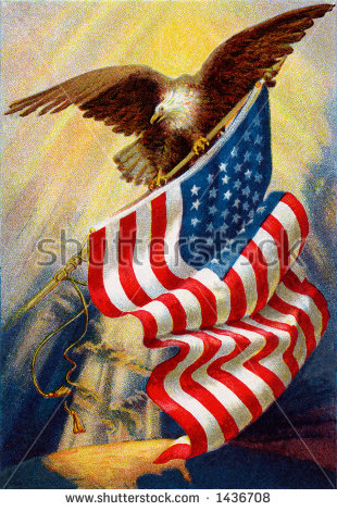 stock-photo-celebrating-old-glory-our-american-flag-a-circa-vintage-illustration-of-bald-eagle-and-1436708
