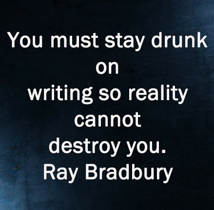 New Ray Bradbury Quotes On Writing anna dobritt s blog