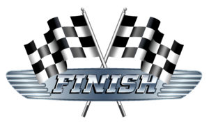 Checkered, Chequered, FINISH