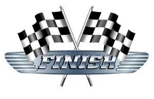 Checkered, Chequered, FINISH