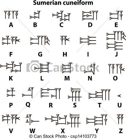 sumerian-cuneiform-image_csp14103773